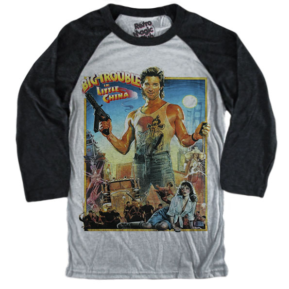 Big Trouble In Little China Classic Poster T Shirt Retro Magic Store
