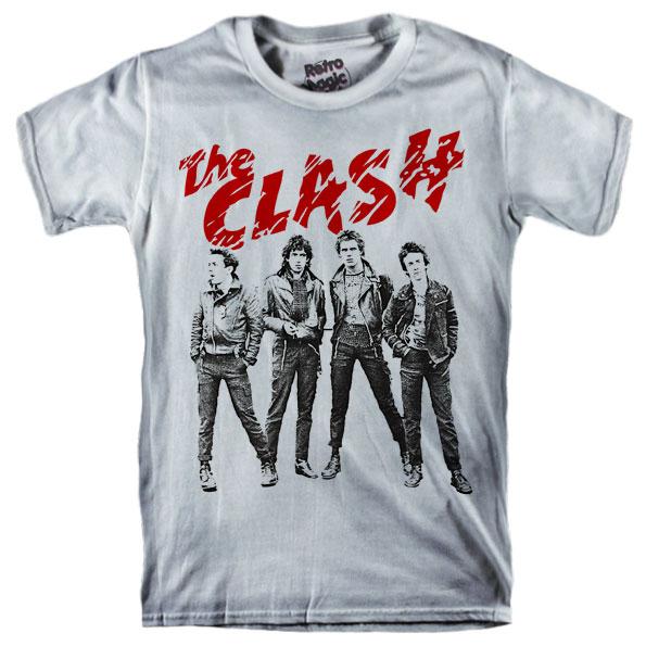 THE CLASH T-shirt – Retro Magic Store