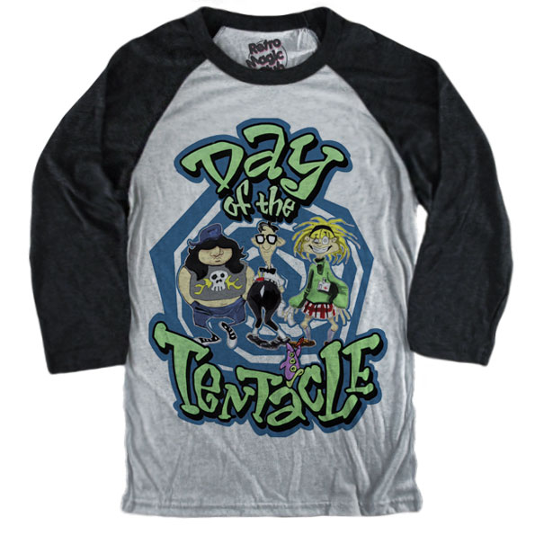 0cefff58a3f DAY OF THE TENTACLE T-shirt – Retro Magic Store