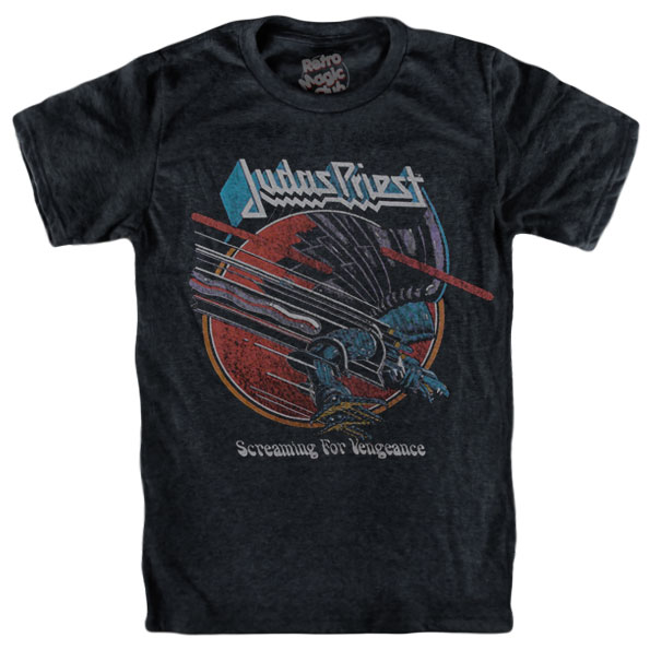 d016460c2c4 JUDAS PRIEST – SCREAMING FOR VENGEANCE T-shirt – Retro Magic Store