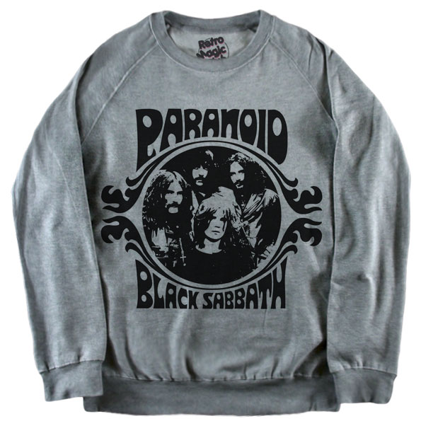 Black Sabbath Paranoid T Shirt Retro Magic Store