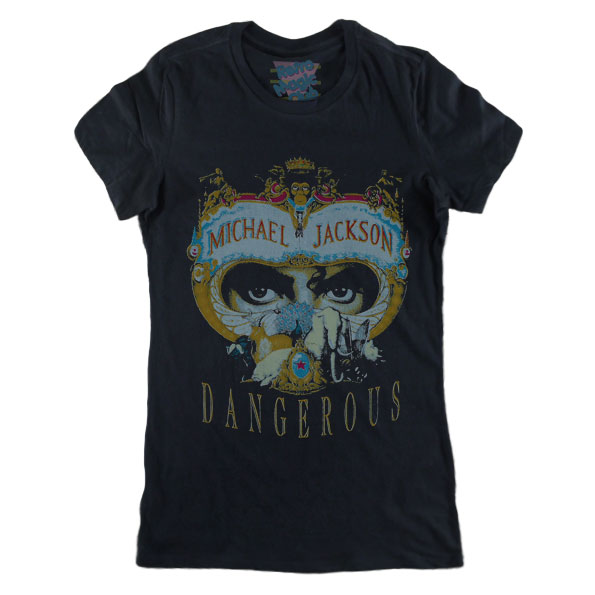 a64cf46fd557 MICHAEL JACKSON – DANGEROUS T-shirt – Retro Magic Store