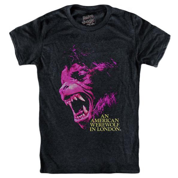 3b5a97a7d1a AN AMERICAN WEREWOLF IN LONDON T-shirt – Retro Magic Store